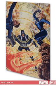ON OF M told how Quicksilver stole the precious Terrigen Mists from the Inhumans and how Black Bolt retaliated by declaring war on humanity. Now that war is about to break loose as Gorgon leads a terrorist attack on New York. Old friends become deadly enemies when the Fantastic Four are forced to defend their city against the Inhumans.