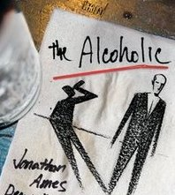 The Alcoholic cover by Dean Haspiel