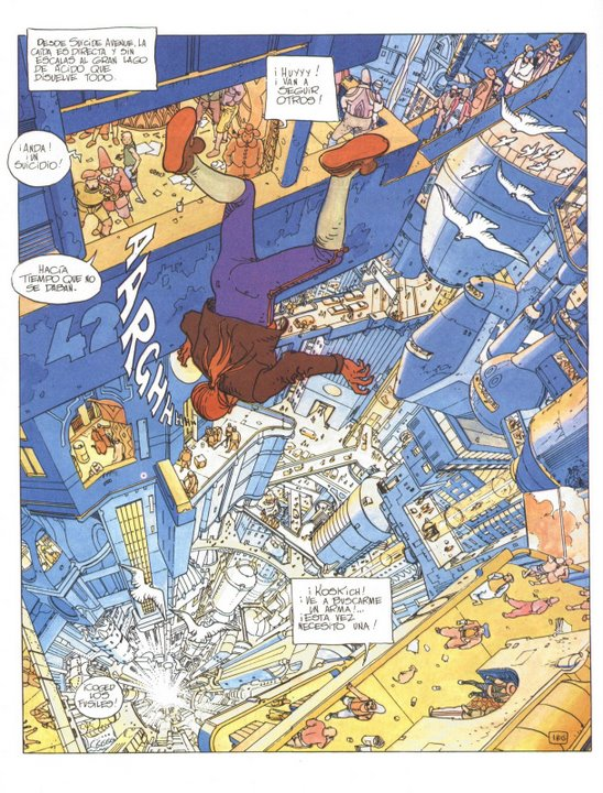 Incal city original